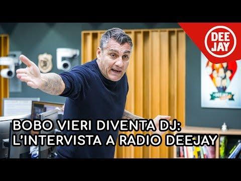 Bobo Vieri diventa Dj: l'intervista a Deejay chiama Italia