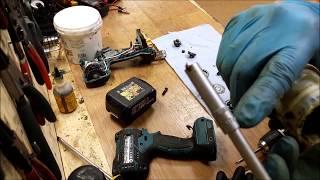 how to remove cordless drill chuck makita dhp480 18v li ion drill