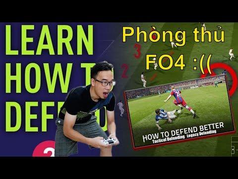 FO4 Tutorial - Chia sẻ về cách phòng ngự trong FIFA Online 4