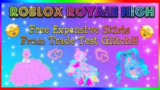 ROBLOX Royale High Trade Test Glitch - Kostenlose teure Röcke! Plus kaufen Pastell high tops😃