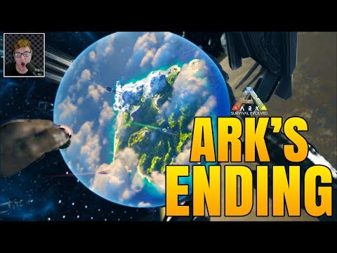ARK STORY ENDING! - INTENSE OVERSEER BOSS FIGHT - Ark Survival Evolved Ending Boss Fight(Update 267)