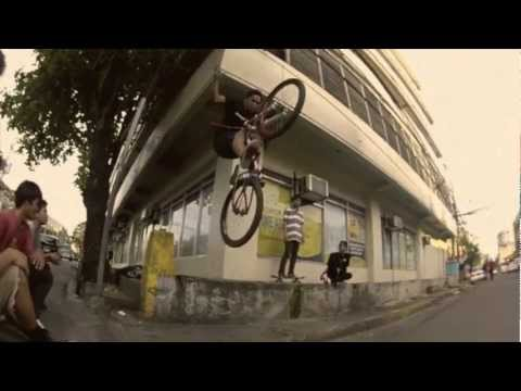 2012 CEBU BMX-MTB STREET *film grain* COMPILATION