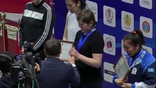 ЧРК по боксу среди женщин Астана-2018.  финал (17.05.2018)
