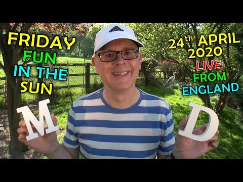 ?? Freaky Friday / Strange English Words / 24th April 2020 / LIVE stream with Mr Duncan in England