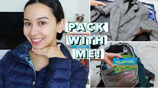 Pack With Me For Europe: Carry-On ONLY!