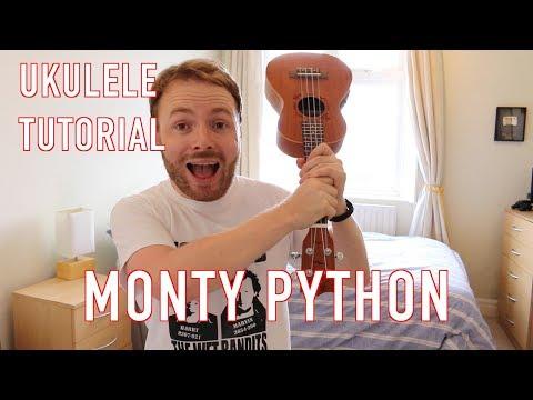 Always Look On The Bright Side Of Life - Monty Python Ukulele Tutorial