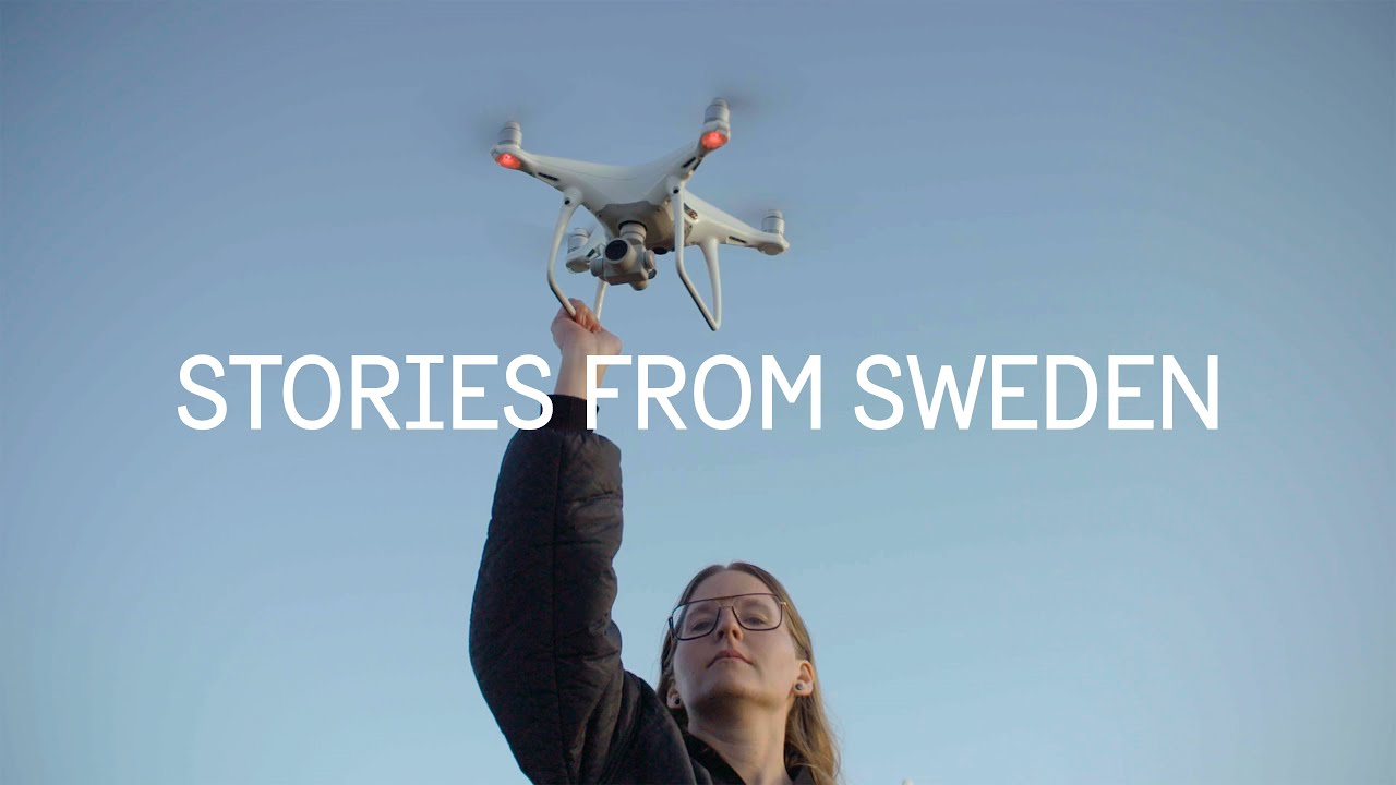 Changing the world with drones - Stories From Sweden