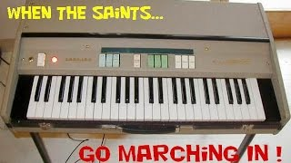 When the Saints Go Marching In - compared with 2 vst Organ Instruments