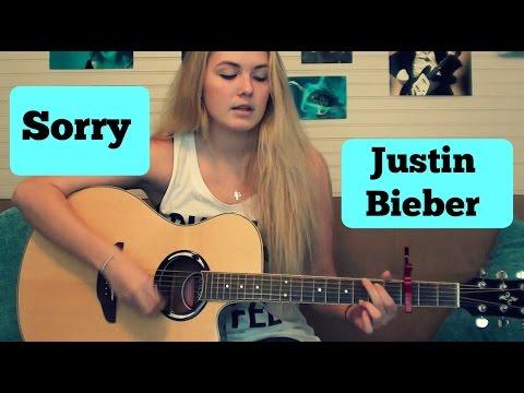 Sorry-Justin Bieber Guitar Tutorial