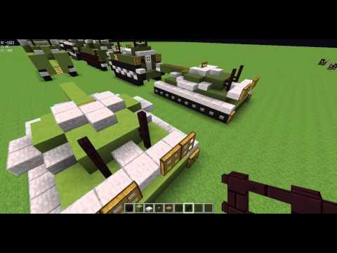 видео: как построить технику в маинкрафте, танк т 74 .серя 2