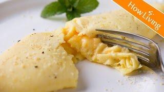 【Eng Sub】法式起司煎蛋捲-3分鐘早午餐 French Cheese Omelette│HowLiving美味生活 thumbnail