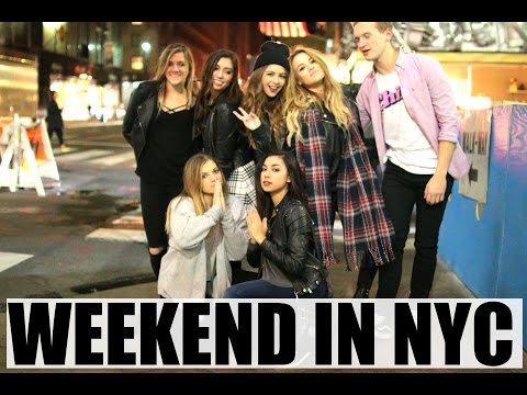 WEEKEND IN NYC   EMPIRE STATE AT 2 AM, BEAUTYCON, & MEETUP!   DailyPolina