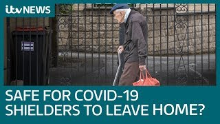 Coronavirus: Is it safe for shielders to leave home? | ITV News