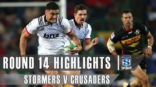 ROUND 14 HIGHLIGHTS: Stormers v Crusaders - 2019