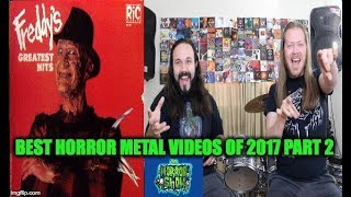 Best Horror Metal Music Videos 2017 Part 2: CROSSING THE STREAMS with CHIRON - The Horror Show