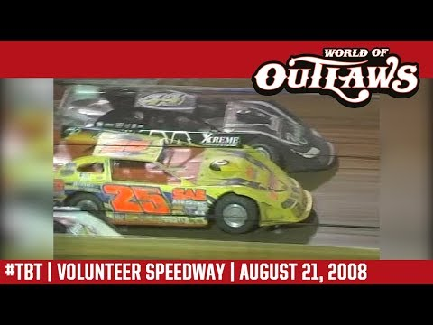 World of Outlaws Craftsman Late Models Volunteer Speedway August 21, 2008   #ThrowbackThursday