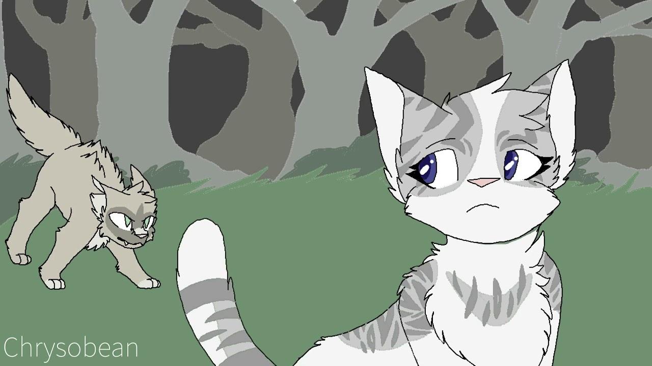 коты воители гиф воробей чертового