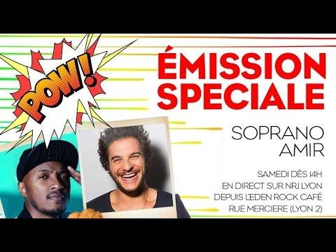 Emission spéciale Amir et Soprano sur NRJ Lyon - 01/10/16 - LaBanqueMedia