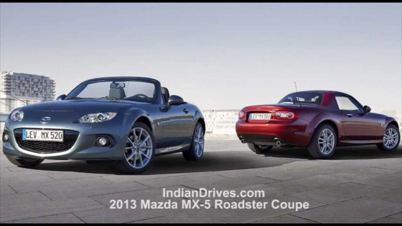 2013 Mazda MX 5 Roadster Coupe : Released - YouTube