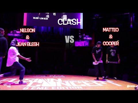 NELSON & JEAN BLESH vs MATTEO & COOPER | Clash | Fusion Concept 2017