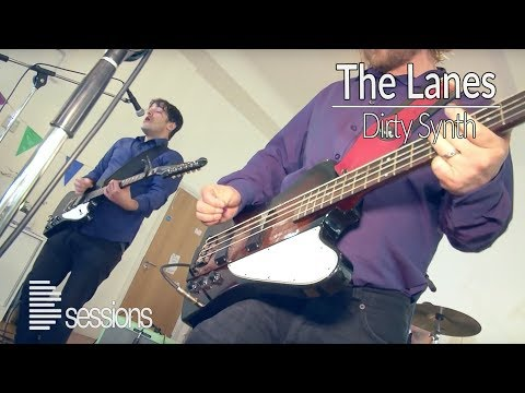 The Lanes - 'Dirty Synth': indie rock band from Brighton - Live Music Session (Bsession)