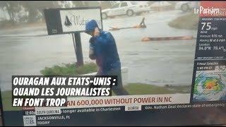 Ouragan aux Etats-Unis : quand les journalistes en font trop