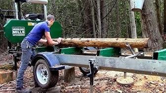 Woodland Mills- Sawmill & Trailer- HM126 Woodlander XL