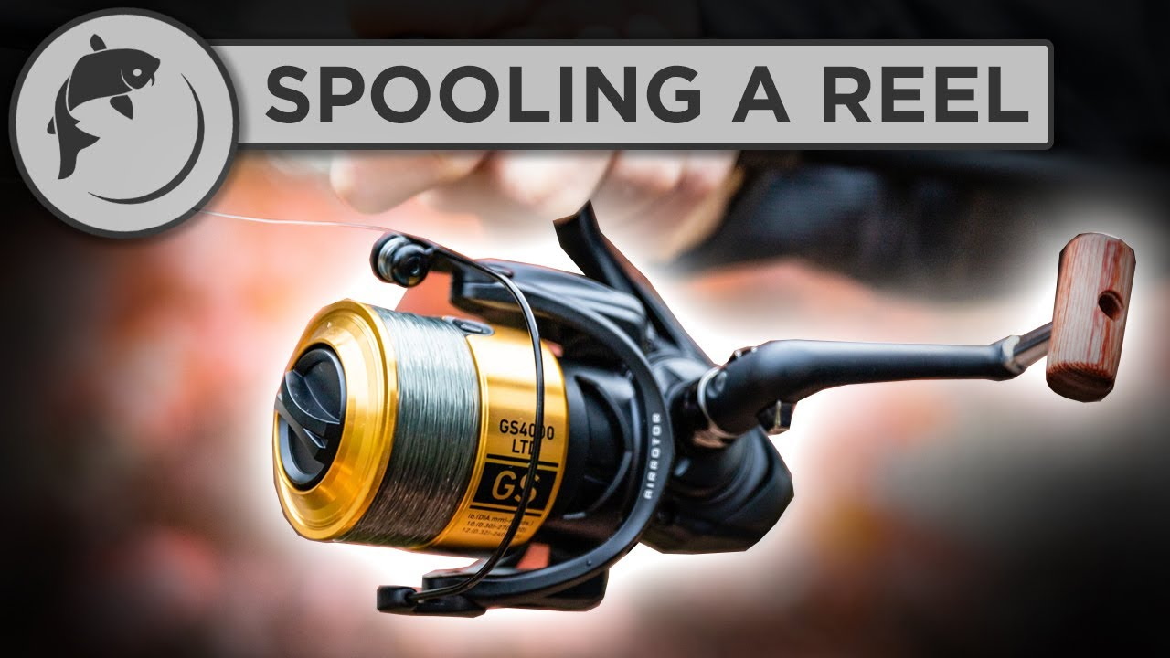 Download How To Spool A Fishing Reel - put line on your reel!