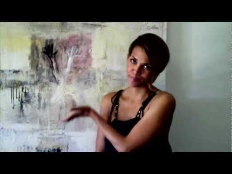 A Day In The LIfe of Expressionist Painter Amadea Bailey