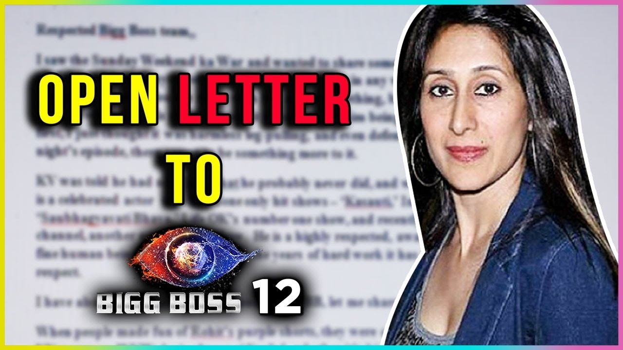 Teejay Sidhu's OPEN LETTER For Karanvir Bohra's INSULT In Bigg Boss 12