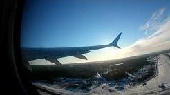 TUI BLX217 Boeing 737-max 8 Helsinki-Tenerife, takeoff and landing