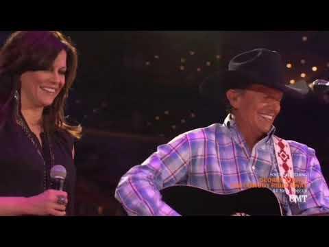 "George Strait & Martina McBride  ~  ""Jackson"""
