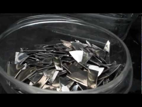 Scrapping HDD Platters Part 2: Dissolving