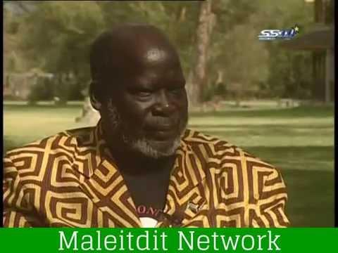 Dr. John Garang's interview.