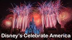 Disney's Celebrate America Fourth of July Fireworks at The Magic Kingdom (4K)
