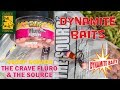 Обзор бойлов DYNAMITE BAITS; The Crave fluro pop-ups & The Sourse