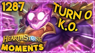 NOTHING Can Beat This TURN 0 LETHAL | Hearthstone Daily Moments Ep.1287