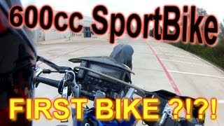 600cc Sportbike First Motorcycle