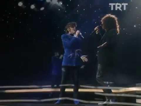 Arzu Ece & Gür Akad - Sessiz Geceler (1991 Türkiye Ulusal Finali)