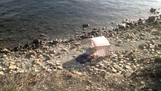 дикий пляж черного моря(дикий пляж черного моря., 2015-09-06T18:31:08.000Z)