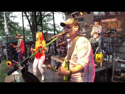 Hillbilly Rockstarz -  Buy Me A Boat - Live Aug 3, 2016 at Bensenville Concert in the Park