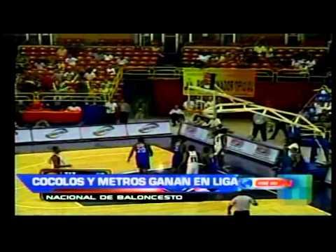 Cocolos y Metros ganan en liga nacional de baloncesto