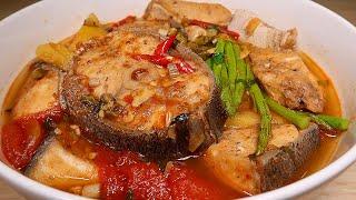 Vlog 07 | Canh Chua Cá Bớp Măng Tây (Sour Cobia Fish Soup With Asparagus)