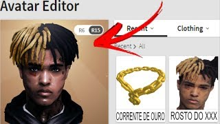How to TURN the XXXTentacion into ROBLOX!!! ANGRY