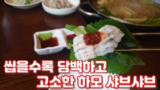 분당 판교 맛집 낙지한마당 하모 샤브샤브
