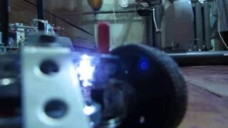 Драгстер железный конструктор