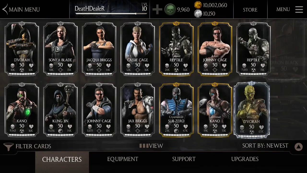 Mortal Kombat x Free Hacked Account for anyone unlucky everything! by  Mortal Kombat X Accounts