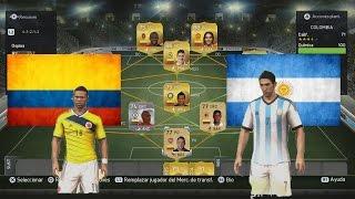 Fifa 15 Ultimate Team - Contratando jugadores | Armando la Selección Colombia y Argentina