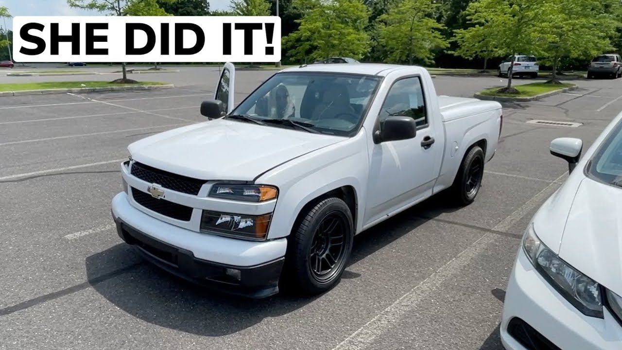 MY GIRLFRIEND TRIED TO DRIVE THE LS COLORADO!