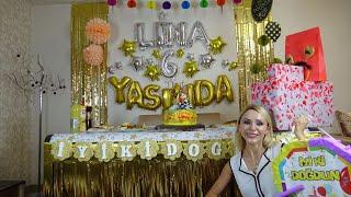 Lina'ya Sürpriz Doğum Günü Partisi Hazırlığımız